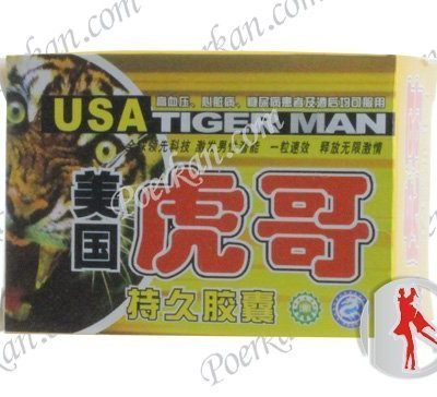 USA TIGER MAN MALE POWERFUL SEX PRODUCT